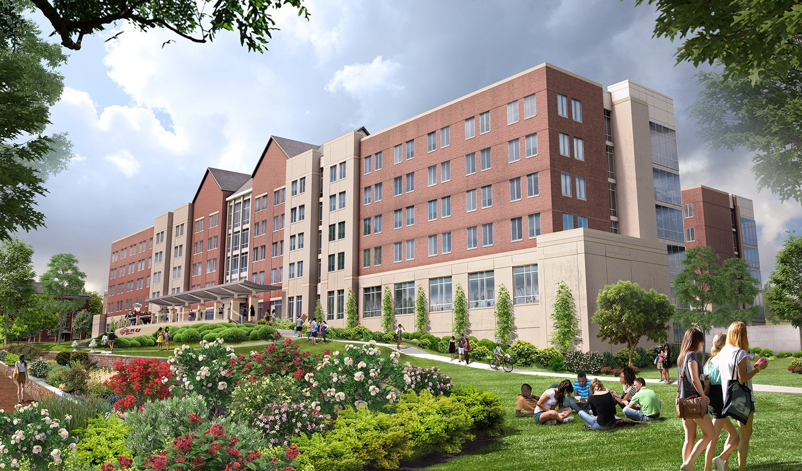 EOP Selected for EKU's Student Housing - EOP Architects