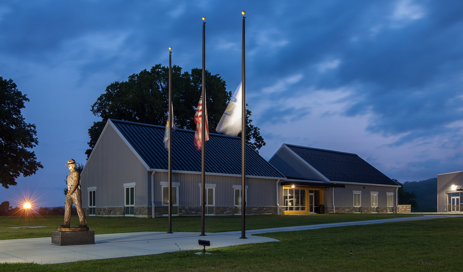 Kentucky State Police Training Academy | EOP Architects