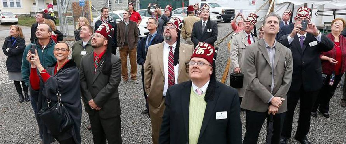 Shriners Topping Out NEWS image
